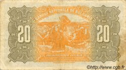20 Leva BULGARIE  1922 P.036a TTB