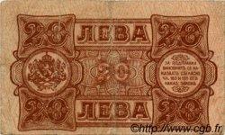 20 Leva BULGARIE  1943 P.063a TB