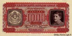 1000 Leva BULGARIE  1943 P.067a SPL