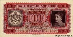 1000 Leva BULGARIE  1943 P.067a NEUF