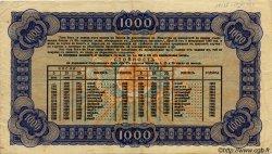 1000 Leva BULGARIE  1943 P.067I TTB