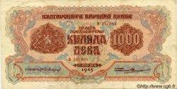 1000 Leva BULGARIE  1945 P.072a TTB