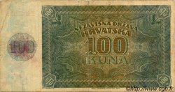 100 Kuna CROATIE  1941 P.02 TB+