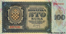 100 Kuna CROATIE  1941 P.02 pr.NEUF