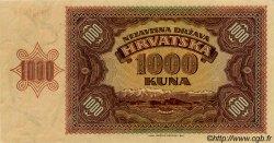 1000 Kuna CROATIE  1941 P.04a SPL