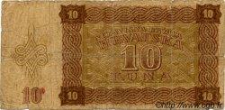 10 Kuna CROATIE  1941 P.05 B