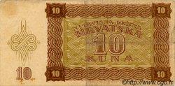 10 Kuna CROATIE  1941 P.05 TTB