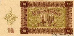 10 Kuna CROATIE  1941 P.05 SUP