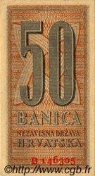 50 Banica CROATIE  1942 P.06 SPL