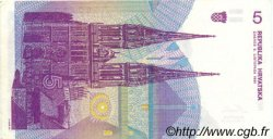 5 Dinara CROATIE  1991 P.17a SUP