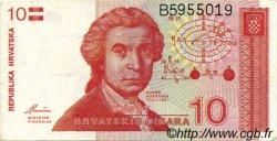10 Dinara CROATIE  1991 P.18a TTB