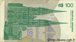 100 Dinara CROATIE  1991 P.20a TTB