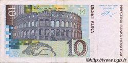 10 Kuna CROATIE  1995 P.36a TTB