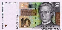 10 Kuna CROATIE  1995 P.36a pr.NEUF