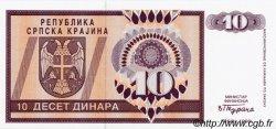 10 Dinara CROATIE  1992 P.R01a NEUF