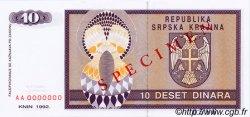 10 Dinara CROATIE  1992 P.R01s NEUF