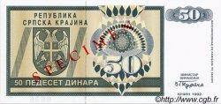 50 Dinara CROATIE  1992 P.R02s NEUF