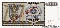 5 000 000 Dinara CROATIE  1993 P.R11s NEUF