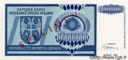 100000000 Dinara CROATIE  1993 P.R15s