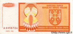 500 000 000 Dinara CROATIE  1993 P.R16a SUP+
