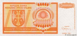 500 000 000 Dinara CROATIE  1993 P.R16a NEUF