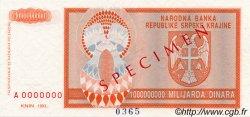 1000000000 Dinara CROATIE  1993 P.R17s NEUF