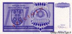 5 000 000 000 Dinara CROATIE  1993 P.R18s pr.NEUF