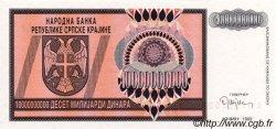 10000000000 Dinara CROATIE  1993 P.R19a NEUF