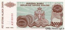 500 000 Dinara CROATIE  1993 P.R23a NEUF