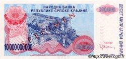 10000000000 Dinara CROATIE  1993 P.R28s NEUF