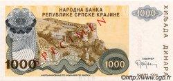 1000 Dinara CROATIE  1994 P.R30s NEUF