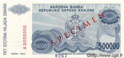 500000 Dinara CROATIE  1994 P.R32s NEUF