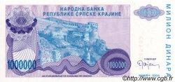 1000000 Dinara CROATIE  1994 P.R33a NEUF