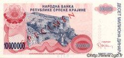 10000000 Dinara CROATIE  1994 P.R34s NEUF