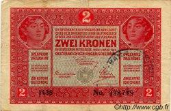2 Kronen CROATIE  1917 P.-- TB+