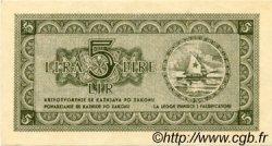 5 Lire CROATIE  1945 P.R02 SPL