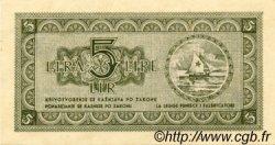 5 Lire YOUGOSLAVIE Fiume 1945 P.R02 NEUF