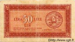 50 Lire CROATIE  1945 P.R05a TB