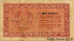 50 Lire CROATIE  1945 P.R05b pr.B