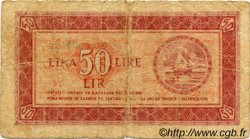 50 Lire YOUGOSLAVIE Fiume 1945 P.R05b pr.B