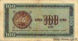 100 Lire CROATIE  1945 P.R06a TB