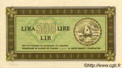 500 Lire CROATIE  1945 P.R07a pr.NEUF