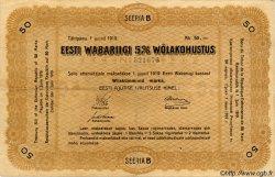 50 Marka ESTONIE  1919 P.08 TB