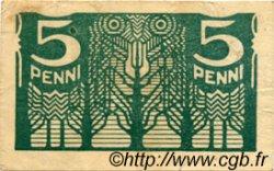 5 Penni ESTONIE  1919 P.39a TTB