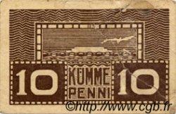 10 Penni ESTONIE  1919 P.40b AB