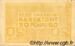 20 Penni ESTONIE  1919 P.41a TTB