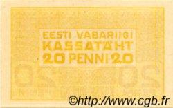20 Penni ESTONIE  1919 P.41a pr.NEUF