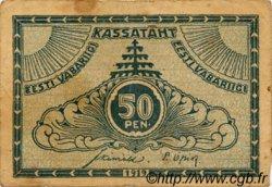 50 Penni ESTONIE  1919 P.42a pr.TB