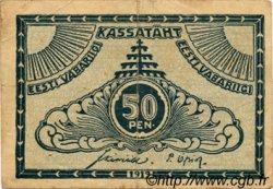 50 Penni ESTONIE  1919 P.42a TB+