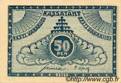 50 Penni ESTONIE  1919 P.42a SPL